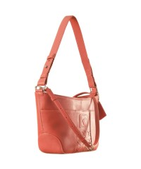 Cute & compact, just the right size for the evening outing or the weekend party. eZeeBags YA832v1 in 100% genuine leather - Pink.