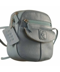 Nothing like a Maya Teen genuine leather sling bag - to enhance your style & confidence. eZeeBags YT842v1 - Blue.