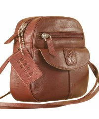 Nothing like a Maya Teen genuine leather sling bag - to enhance your style & confidence. eZeeBags YT842v1 - Burgundy.