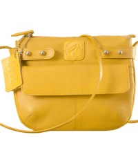 eZeeBags MayaTeens YT844v1 - Style, function & elegance rolled into this beautiful form factor. 100% genuine leather in 12 beautiful colors - Yellow.