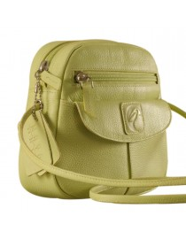 Nothing like a Maya Teen genuine leather sling bag - to enhance your style & confidence. eZeeBags YT842v1 - Green.