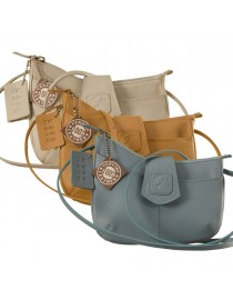 This curvy genuine leather sling bag is all about you & how you carry your style & confidence eZeeBags - YT846v1.