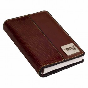 the brown book planner organiser MX Series Brown Front