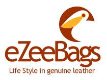 eZeeBags logo with mnemonic and tag line